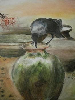 A Thirsty Crow by Prasenjit Dhar