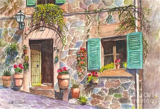 A Townhouse in Majorca Spain by Carol Wisniewski