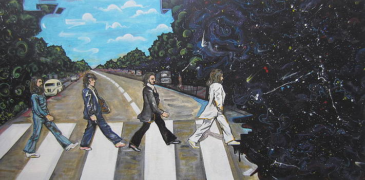 A twist on Abbey Road by ERIK FRANCO.  by Erik Franco