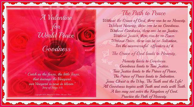 Maryann  DAmico - A Valentine for World Peace