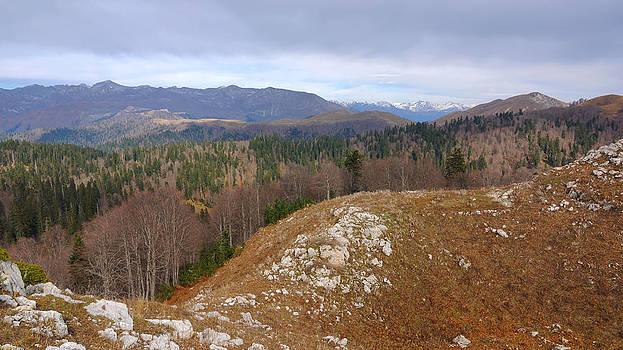 A view from Mamdzyshkha by Kirill Puchkov