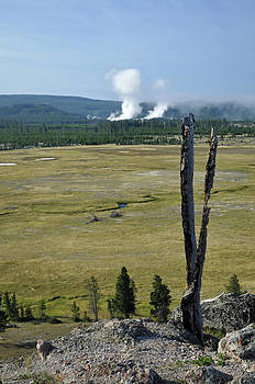A View from Yellowstone's Fountain Flat by Bruce Gourley