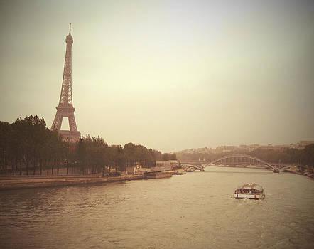 A Vintage Look at La Tour Eiffel by Chris Ann Wiggins