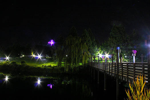 A walk at night by Dan Quam