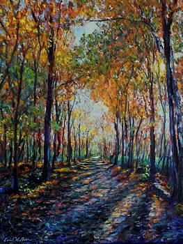 A walk in Autumn by Daniel W Green