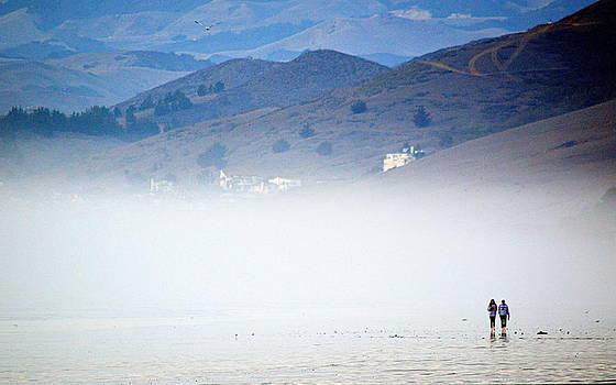 A Walk in the Evening Fog by AJ  Schibig