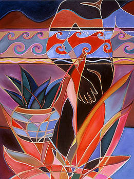 A Walk In The Garden by Carolyn Goodridge