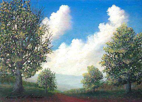 A walk in the park by Kenneth Stockton