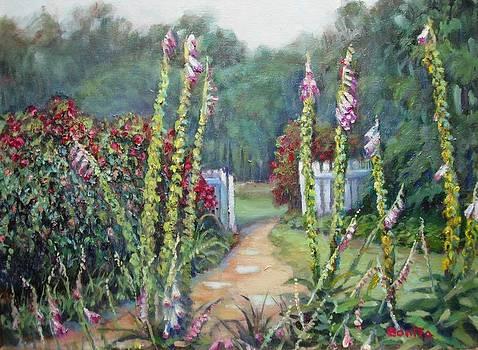 A Walk Into the Garden by Bonita Waitl