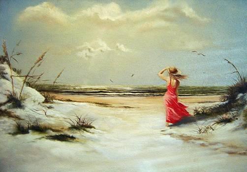 A Walk On The Beach by James Neeley
