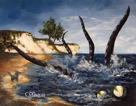A Walk Seaside by Christina Glaser