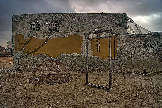 Munir El Kadi - A Wall in an Abandoned Fishing Village
