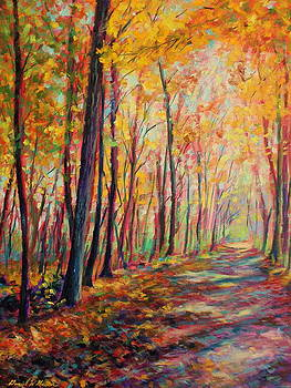 A warm autumn day by Daniel W Green