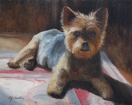 A Warm Spot on the Rug by Beth Johnston