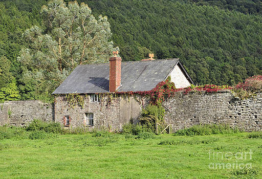 A Welsh Farm At Tintern by Skye Ryan-Evans