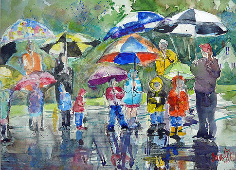 A Wet Morning by Diane Bell