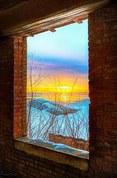A Window to Lake Michigan  by Michael  Bennett