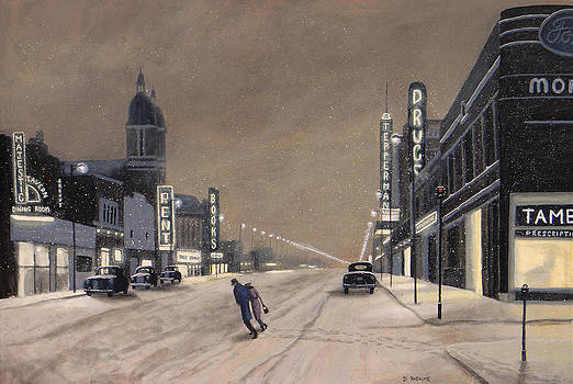 A Windsor Night by Dave Rheaume