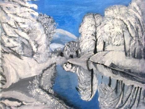 A winter picture by Zornitsa Tsvetkova