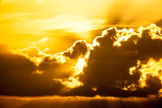 A Winter Sun Set by Brian Williamson