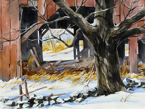 A Winter View by Art Scholz