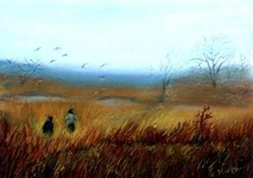 A Winter Walk by Gail Kirtz