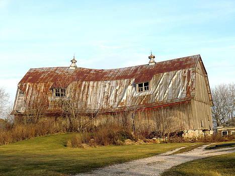 A Wise Old Barn by Jan Scholke