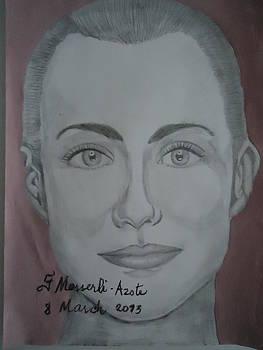 A woman by Fladelita Messerli-