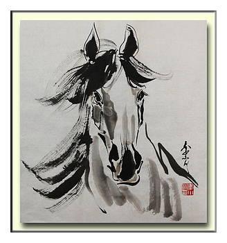 A Young Horse by Xiaochuan Li