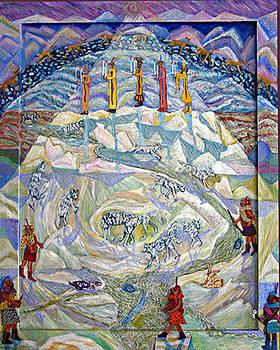 A zZuni Winter by Maria Alquilar