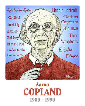 Aaron Copland by Paul Helm
