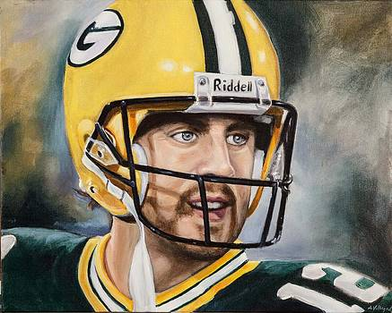 Aaron Rodgers by Angie Villegas