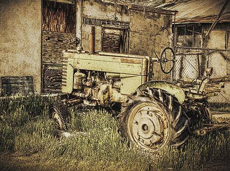 Abandonded Tractor by Greg Bush