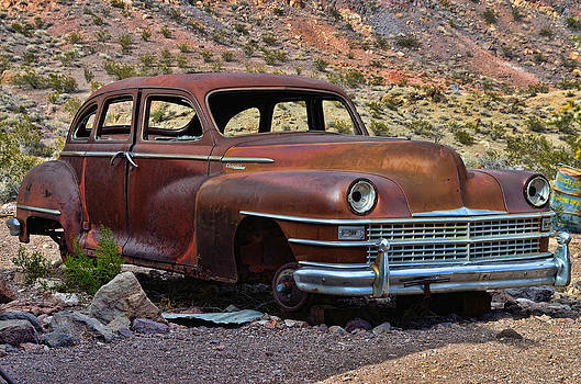 Abandoned Car Nelson NV by Arnold Despi