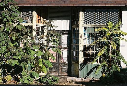 Abandoned Doorway by Bernie Smolnik