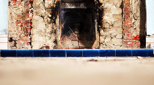 Abandoned Fireplace by Quirky Jen Photos