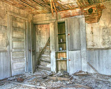 Abandoned House  by Andrea Kelley