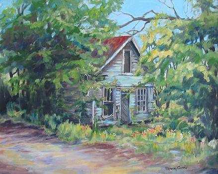 Abandoned House in Galivants Ferry by Sharon Sorrels