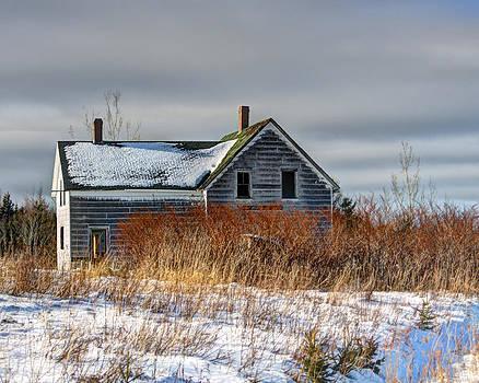 Abandoned in winter by Allan MacDonald