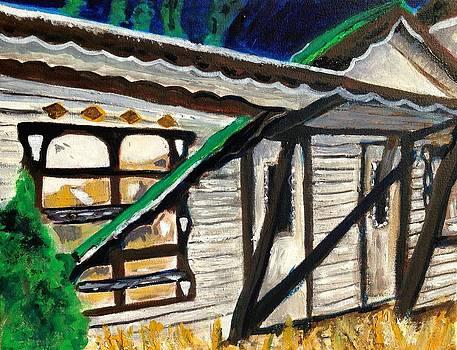 Abandoned Motel by Kendall Wishnick Adams