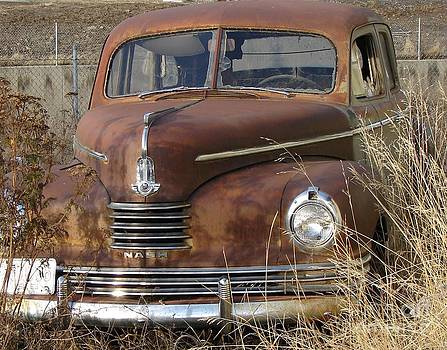 Windy Mountain - Abandoned Nash Rambler Rusty and old Want a Ride?