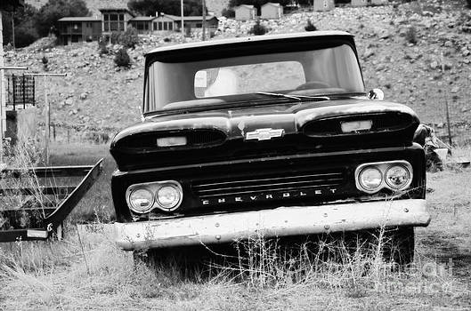 Rachel Barrett - Abandoned Old Chevy