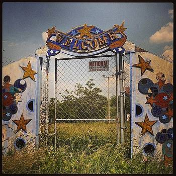 #abandoned Park Entrance In #nolibs by John Baccile