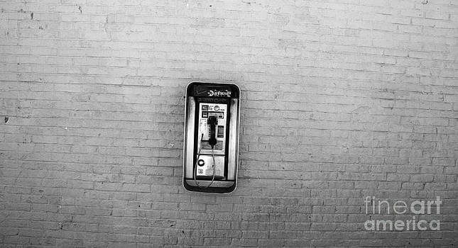 Abandoned Payphone. NYC. by Mark Thomas
