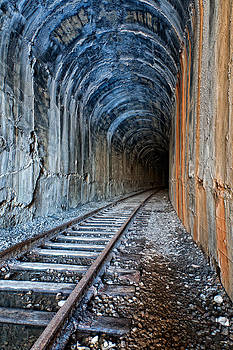 Abandoned Train Tunnel by Colin Sands