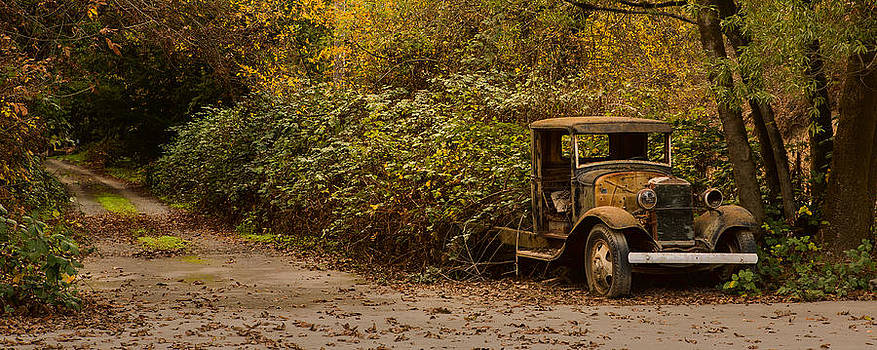 Abandoned Truck by Bryant Coffey