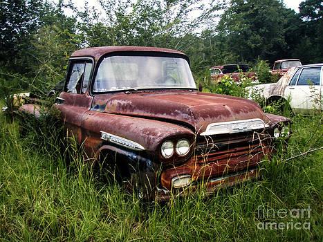 Abandoned Truck by Michelle Burkhardt