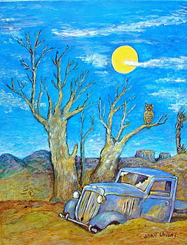 Abandoned Truck Out West by Joan Landry