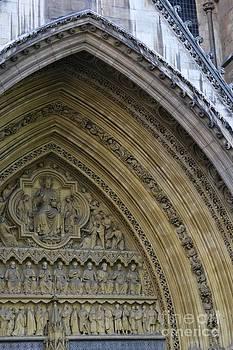 Abbey Door by Stephanie Guinn