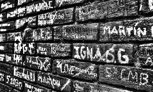 Abbey road wall by Martin Hristov